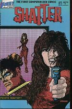 SHATTER  by ABRAMS & ATHANAS...FIRST COMICS 1987