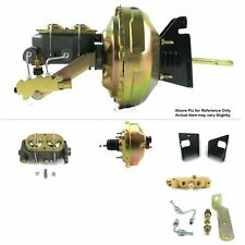 "73-77 Chevy Chevelle Firewall Mount Power 8"" Single Brake Booster Kit Disc/Drum"