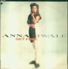 """7"""" Anna Mwale/Get Free (D) Cut Out (Downtempo)"""