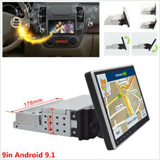 9in Adjustable Android 9.1 Quad Core Car Stereo Radio 1DIN MP5 Player GPS Wifi