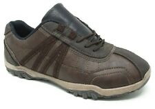 CASUAL WORK WALKING COMFORT HIKING MENS TRAINERS GRIP SOLE SMART LACES SHOES SZ