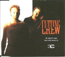 CUTTING CREW If that's Way UNRELASED & Been In Luv RARE version CD single SEALED