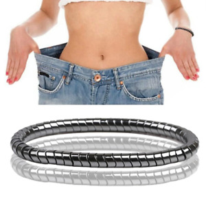 Weight Loss Magnetic Therapy Men Women 8mm Hematite Stone Beads Bracelet Jewelry