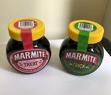More details for marmite trick & treat ltd edn  2x 250g jars unopened bb end mar 22 halloween new