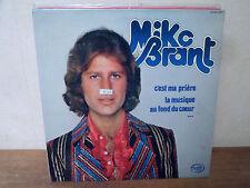 """LP 12"""" - MIKE BRANT - C'est ma prière - EX/VG+ - MFP - 2M 026 13445 - FRANCE"""