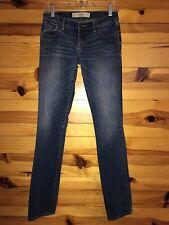 *ABERCROMBIE & FITCH* Women's Juniors PERFECT STRETCH ERIN Jeans Size 2L W26 L35