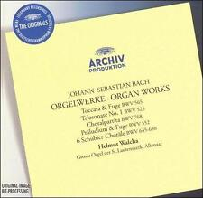 NEW Bach, J.S.: Organ Works (Audio CD)