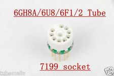 10pcs 6GH8A 6U8 ECF80 ECF82 6F2 instead 7199 tube converter adapter