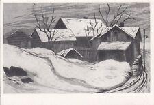 Postcard - Onni Mansnerus ? / painting