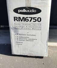 Polk Audio RM6750 BLACK 5.1 Home Theater Speaker System