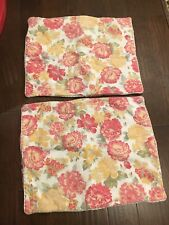Mary Jane's Home Floral Pillow Sham Set