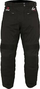 Weise Outlast Frontier 'LAMINATED' Motorcycle Trousers Waterproof Textile Black