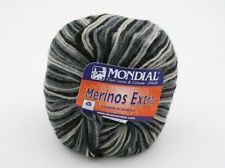 2 Balls of Mondial Merinos Extra Printed Yarn Color 958