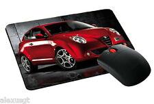 mouse pad, tappetino mouse ALFA ROMEO MITO car pc computer desktop