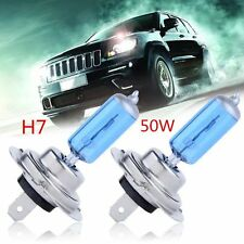 2 PCS H7 6000K Xenon Gas Halogen Headlight White Car Light Lamp Bulbs 55W 12V LJ