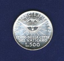 """VATICAN CITY  """"SEDE VACANTE""""   1958  500 LIRE SILVER COIN, GEM UNCIRCULATED"""