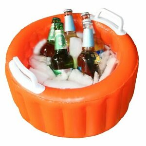 Inflatable Beer Ice Bucket For Outdoor Floating Summer Party Bucket Salad Bar