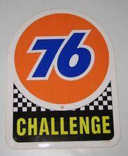 Aufkleber orange 76 Challenge Vintage Oil Old School Cannonball Highway Speedway