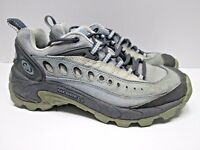 """Merrell  """"Pulse Sky Blue"""" blue and gray hiking shoes Women's 7"""