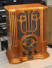 THOMAS MUSEUM SERIES REPRODUCTION AM/FM/CASSETTE RADIO MODEL MBII  GOOD