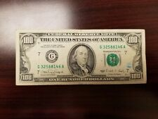 Series 1990 US One Hundred Dollar Bill $100 **Chicago** G32588146A