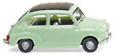 Wiking Ho 1:87 009902 Fiat 600 - white/green - New