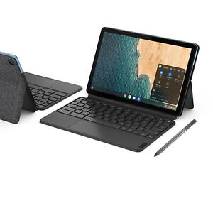 """Lenovo 2-in-1 Chromebook Duet 10.1"""" Touchscreen with Keyboard & USI Pen"""