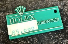 ROLEX SUBMARINER green tag étiquette 1680 5512 5513 5514 Sea-type Doré Cadran OEM
