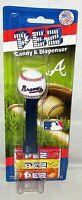 MLB ATLANTA BRAVES Pez Dispenser  BASEBALL   [Carded]