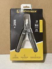 Leatherman 832563 Wave Plus 18 Multitool W/Black Nylon Sheath