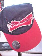 BUDWEISER BRIM BOTTLE OPENER BEER BASEBALL CAP