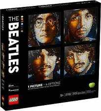LEGO Art The Beatles wall Mosaic 31198 2933pcs
