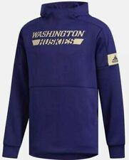 Adidas Washington Huskies Game Mode Sideline Pullover hoodie men football team