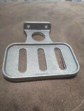 Vintage Industrial Cast Aluminum Wall Mount Soap Dish Holder