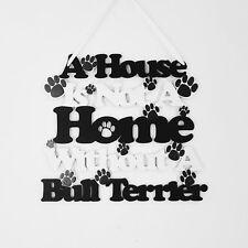 Bull Terrier Sign, Bull Terrier Gift, Dog Lover Gift, Dog Sign