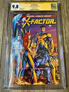 X-Factor Classic Trade Homage Variant issue #1 CGC 9.8 Signed Scott Williams