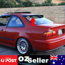 HQ Black Rear Window Visor Weathershield Spoiler Wing For Collora Sedan
