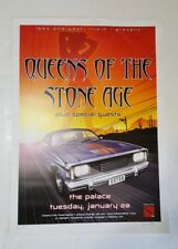 Queens of the Stone Age Poster 2003 Palace Australia Signed Numbered Joe Whyte