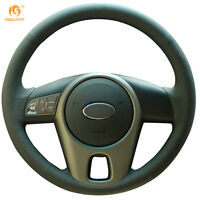 Durable Leather Steering Wheel Cover for Kia Forte 2009-2014 Soul 2010-13 #QY19