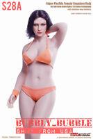 PHICEN TBLeague 1/6 Buxom Woman S28A Seamless Female Plump Body PALE ☆USA☆