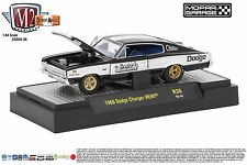 M2 Dodge Charger HEMI 1966 Black 1/64 32600-36
