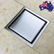 AU 304 Stainless Steel Shower Grate Tile Insert Drain Wet Bathroom Floor Waste