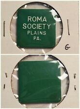 Roma Society Plains PA good for ? in trade token gft563