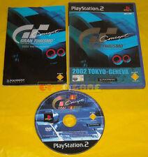 GRAN TURISMO 2002 TOKYO-GENEVA Ps2 Versione Italiana 1ª Edizione »»»» COMPLETO