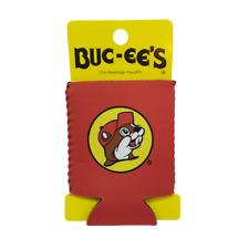Buc-ees Red Can Beverage Insulator Neoprene Koozie Bucees