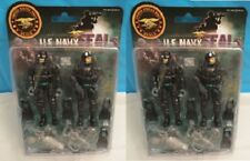 2x U.S. Navy Seals 3.75 in Action Figures Set Official Seals Sailors Toy New 4+