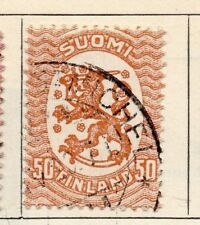 Finland 1918 Early Issue Fine Used 50p. 105503