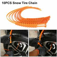 10x Auto Schneeketten Reifen Schnee Kette Anfahrhilfe Anti-Rutsch Sicherheit DE