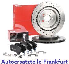 Brembo Bresscheiben + Bremsbeläge MERCEDES C S SL KLASSE W205 W222 63 AMG HINTEN
