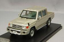 1/43 Hi Story Toyota LAND CRUISER 70 V6 4WD Pick Up VAN 2014 Beige Mica Metallic